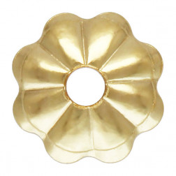14 K Gold Filled Kralenkapje, 4 mm, per 10 stuks