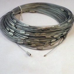 Spang, RVS, 45 cm, zilverkleurig