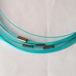 Spang, RVS, 45 cm, lichtblauw