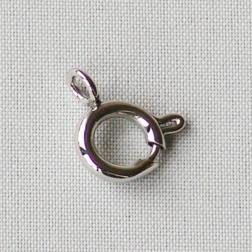Edelstalen RVS springslot- veerring (316), 8 mm, verpakt per stuk