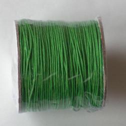 Waxkoord, groen, 1 mm, per 95 meter