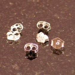 Sterling zilveren (925) vlindertje, verpakt per paar